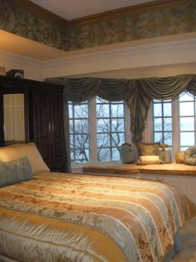 Project: Bedroom Sitting Area Overlooking LI Sound Private Home Belle Terre, NY