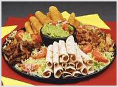 another example of the food trays we create for you