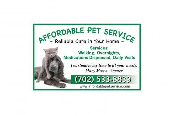 Affordable Pet Service